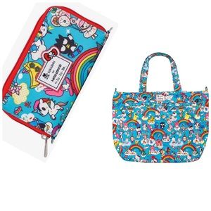 Tokidoki Hello Kitty Ju Ju Be Bag and Wallet NWT